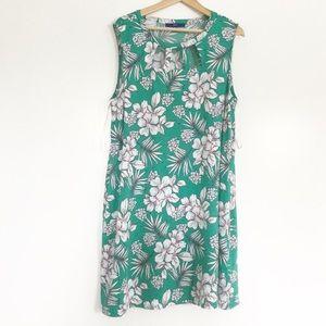 APT. 9 Sleeveless Floral Dress XXL
